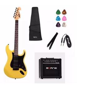 Kit Guitarra Tagima Memphis Strato Mg32 An E Acessórios