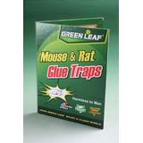 Papel Atrapa Ratones Ratas Trampa Engomada No Toxica Efectiv