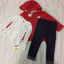 Vestido Para Niña 2 Años 3 Piezas, Nuevo Y Envío Gratis