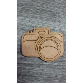 Máquina Fotográfica Antiga Aplique Mdf 20 Unidades
