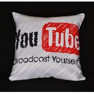 Almofada Youtube Broadcast Yourself