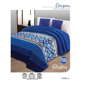 Cobertor Matrimonial Regina Borrega Modelo Arizona