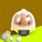 Incubadora Led De 7 Huevos Con Control De Temperatura