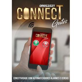 Controle Portão Eletrônico Celular Nuvem Wifi Omegasat