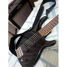 Baixo Fender Mb-5, Contrabaixo 5 Cordas.