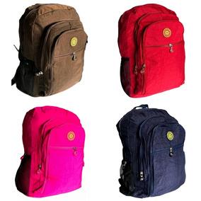 Mochila Feminina Fashion Bag Style Em Crinkle Todas As Cores