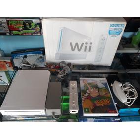 Nintendo Wii Bloqueado Completo Para Jogar (usado)