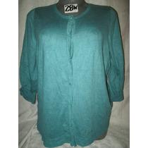 Sweater Aqua Talla 4x Extragrande Para Gorditas