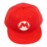 Gorra Snapback Super Mario Bros Niños Galaxy World Broche