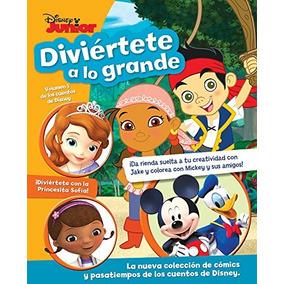 Libro Diviértete A Lo Grande: Disney Junior Vol.1 - Nuevo