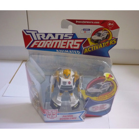 Boneco Transformers Animated Patrol Bumblebee