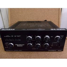 Amplificador Quasar Modelo Qa-2300 Funcionando Barato