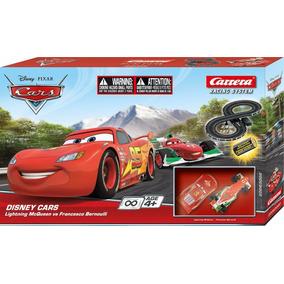 Cars 3 Rayo Mcqueen Vs Francesco Bernoulli Carrera Pista