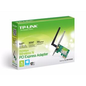 Tarjeta De Red Adaptador Wifi Pci Express Tp Link 150 Mbps