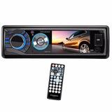 Toca Cd Dvd Automotivo Tela 3.0 Com Bluetooth/usb/sd P/ Car
