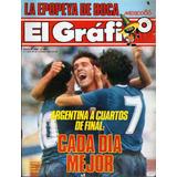 El Gráfico Nro. 3480 - Tapa: Argentina - Uruguay Mundial 86