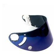 Viseira Shark Rsr/rsr2/r8x Iridium Azul Original