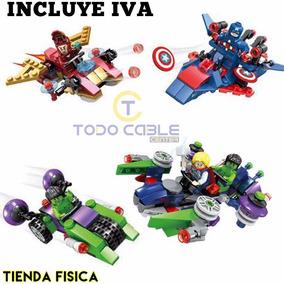 Muñecos Armables Assemble Figuras De Acción Marvel Heroes