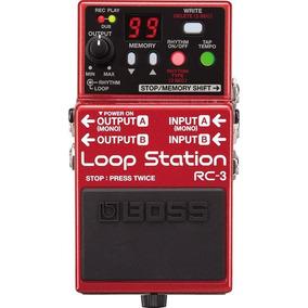 Pedal Looper Boss Rc-3 Loop Station Entrega Inmediata