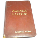 Agenda Salitre, Guillermo Arcalla, Primax Autor:f. Guille