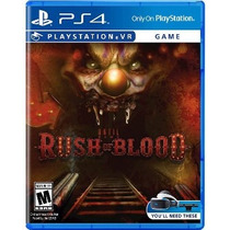 Until Dawn: Rush Of Blood - Other|playstation 4 Vr
