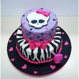 Tortas Monster High 2d