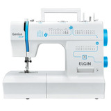 Máquina De Costura Elgin Genius Plus - 220v - Jx4035
