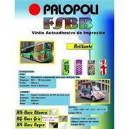Rollo Vinilo Imp. Latex / Solv Palopoli Bco Brill 1.27x50m