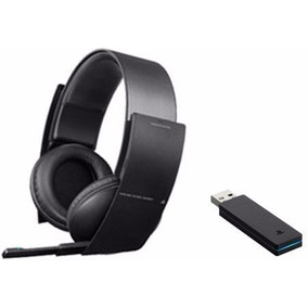 Fone Headset Wirelles Stereo Sony Pulse Original 7.1 Ps3