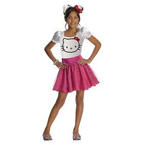 Hello Kitty Tutu Dress Disfraz - Pequeño