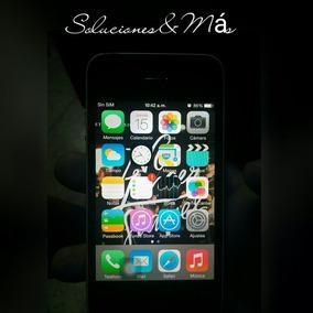 Iphone 4 32 Gb, Sin Señal, Para Usar Como Ipod O Repuesto