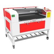 Máquina De Corte E Gravação A Laser Ecnc L-1060 Nacional