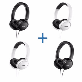 Combo Auriculares Philips Shl5000 X 4 Unidades