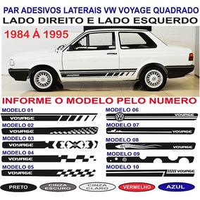 Acessorios Adesivo Vw Voyage Quadrado Lateral 84 A 95 Cl Gl