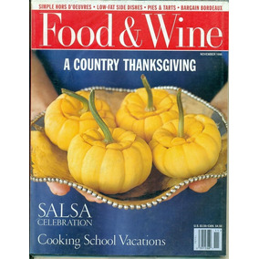 Coleccion De Food & Wine En Ingles -