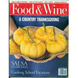 Coleccion De Food & Wine En Ingles -