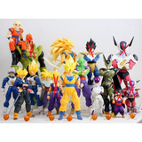 Juguete Barato Muñecos Dragon Ball Z Baratos Set Por 20 U