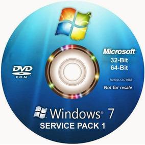 Cd De Instalação Windows 7 Todas Versões + Office 2016 32/64