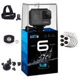 Cámara Gopro Hero 6 Black + Kit De Accesorios Extras