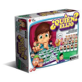 Juego De Mesa A Quien Elijo? Viaje Top Toys Adivina Quien