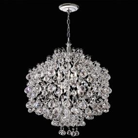 Lustre Cristal Iluminacao Parede Sala Led 2397-45-ls Mr