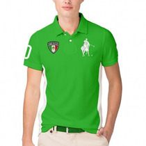 Playera Polo Black Modelo México Vv4