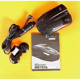 Cobra Esd7570 9 Band Performance Radar Laser Detector 360o