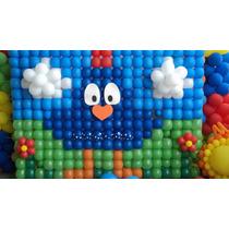 Tela Para Balão 7 Kits, Pds, Bexigas, Tela Plástica