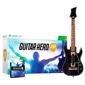 Guitar Hero Live Bundle - Xbox 360 Jogo + Guitarra Original