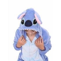 Kigurumi Pijama Stitch Azúl Adulto Polar Disfráz