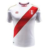 Camisa Do Peru Da Copa Do Mundo 2018 Original