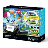 Wii U Deluxe Set Con New Super Mario Bros U Y New Super Lui