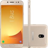 Smartphone Samsung Galaxy J7 Pro 64gb Dual Chip Dourado