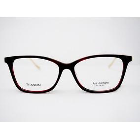 57f5386394369 Armação Para Óculos Ana Hickmann London Ocean Original Nfe